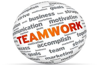 Teamwork to provide excellent IT service